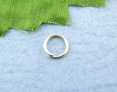 The Bead and Button Box - 300 Silver Tone Open Jump Ring 5mm. Lead and Nickel Free. Ideal for Jewellery Making and other crafts