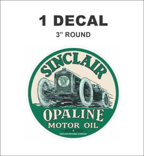 Vintage Style Sinclair Opaline Motor Oil Sinclair Refining Company Decal