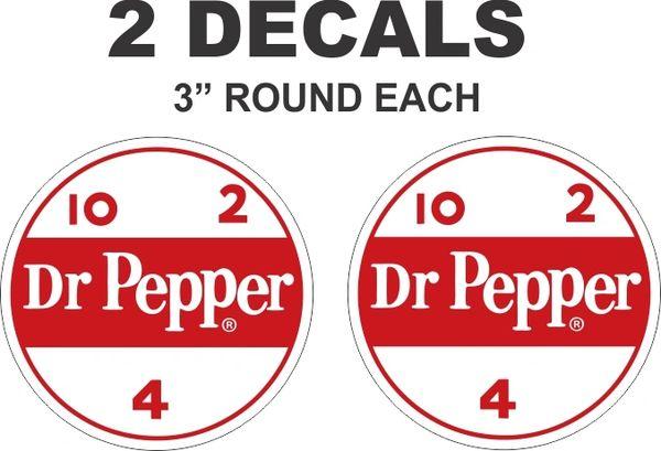 2 Round Dr Pepper 10 2 4