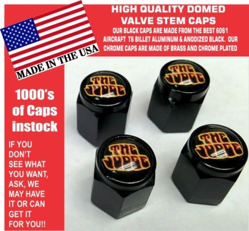 Billet Pontiac Goat GTO Judge 455 Ram Air Black Valve Stem Caps All Metal