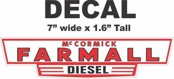 McCormick Farmall Diesel