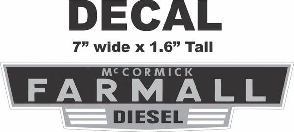 McCormick Farmall Diesel - Nice