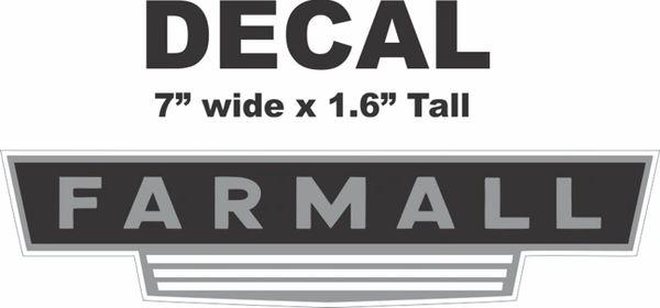 Farmall Decal