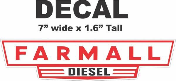 Red Farmall Diesel -