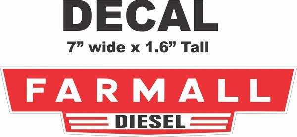 Farmall Re Diesel - Nice!!