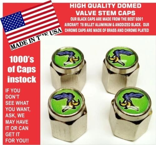 Mopar Sublime Green Plymouth Road Runner Super Bird Valve Stem Air Caps