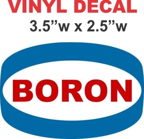 Vintage Boron Gasoline
