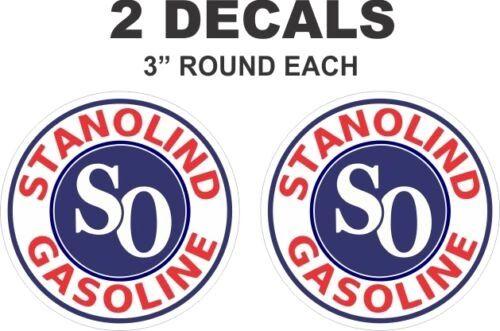 2 Stanolind Standard Oil Company Gasoline