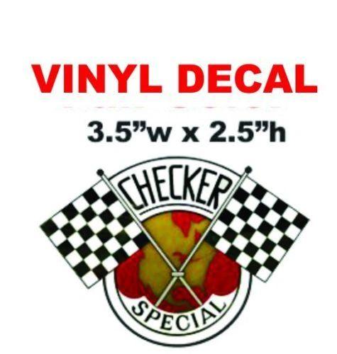 Checker Cab Special Decal