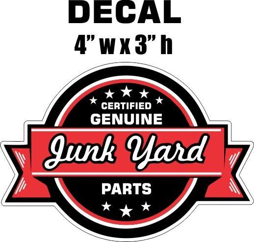 1 Genuine Junk Yard Parts