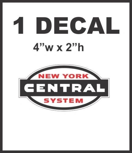 New York Central System Railroad Rail Road Lines Company Decal Very Nice & Sharp