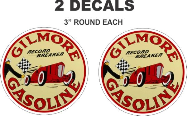 2 Gilmore Record Breaker Decals