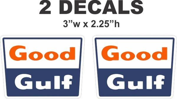 2 Good Gulf Decals