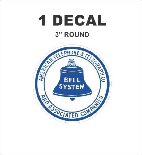 Vintage Style Bell System American Telephone & Telegraph Associated Companies