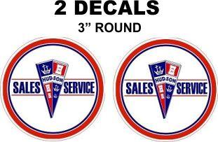 2 Hudson Sales & Service Decals