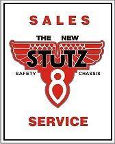 1 Stutz V8 Sales Service 3.5 Tall