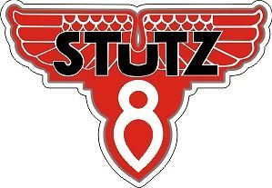"""1 Stutz V8 Sales Service 4 Inches wide x 3"""" tall"""