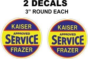 2 Kaiser Frazer Approved Service