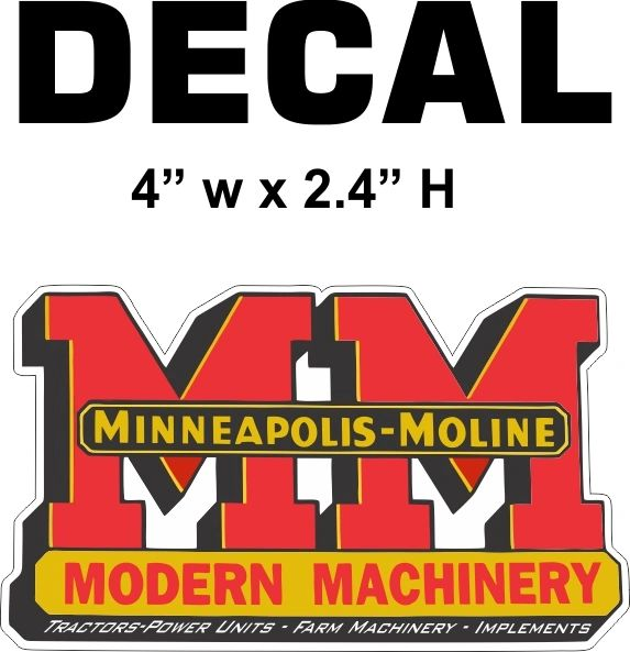 1 MM Minneapolis Moline Modern Machinery - Nice