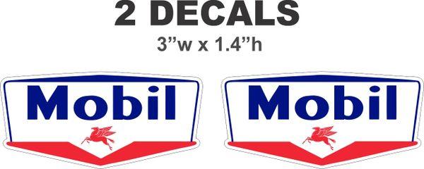 2 Mobil Decals - Nice