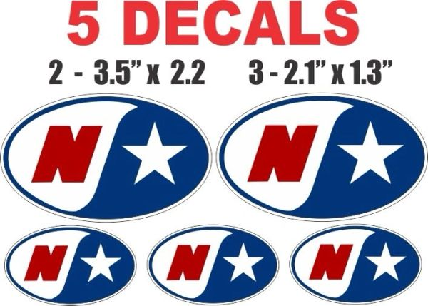 5 Northstar Decals