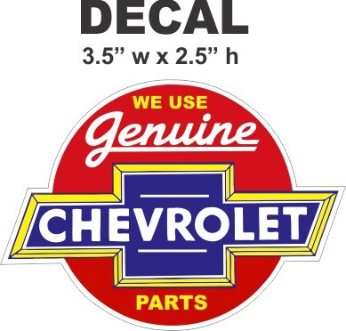 2 We Use Genuine Chevrolet Parts