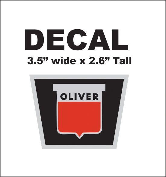 Oliver Radiator Decal - Nice