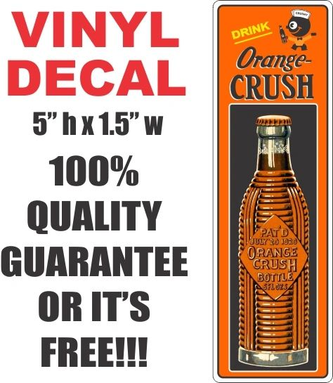 Orange Crush Decal