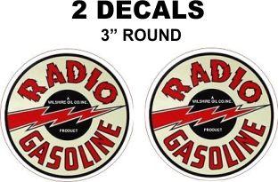 2 Vintage Style Radio Gasoline