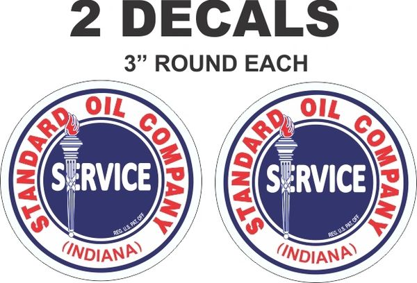2 Standard Oil Company Service Indiana