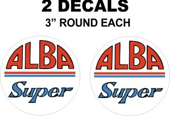 2 Super Alba Decals