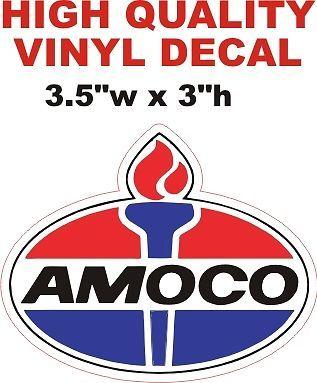 1 - Amoco Gasoline Decal