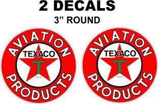 2 Texaco Gasoline Aviation Products
