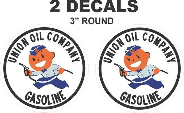 2 Union Oil Company Gasoline