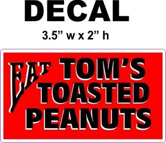 Eat Tom's Roasted Peanuts