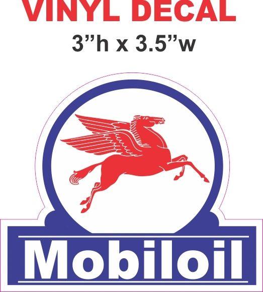 Mobil Oil Right Facing Pegasus - Very Nice