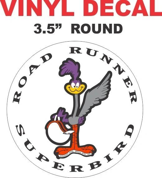 Nice Road Runner Superbird Decal