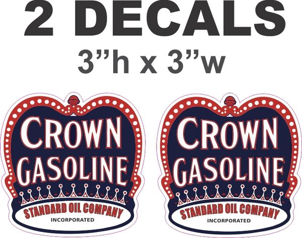 2 Crown Gasoline Standard Oil Company
