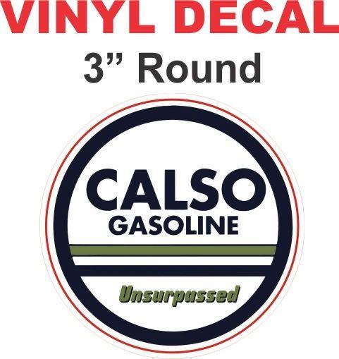 Vinatge Style Calso Gasoline Unsurpasssed
