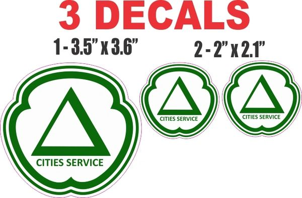3 Cities Serice Decal - Nice