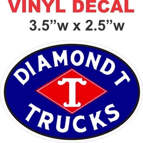Diamond T Tricks - Oval Decal