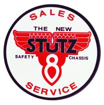 1 Stutz 8 Sales Service 3.5 Inch Round