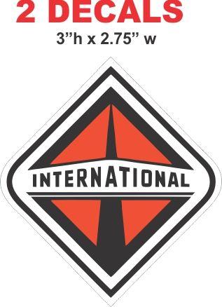 2 International Decals - Nice
