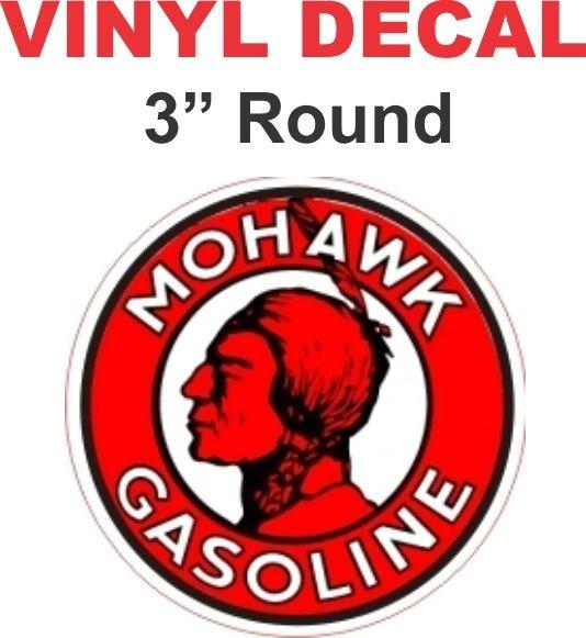1 Mohawk Gasoline Decal