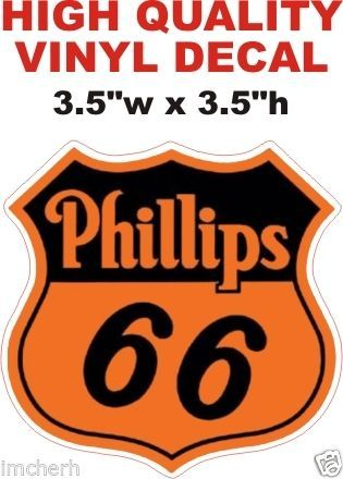 1 - Phillips 66 Decal - Very Sharp as with all my decals