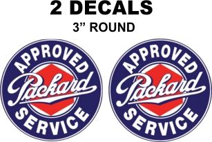 2 Packard Approved Service Deals