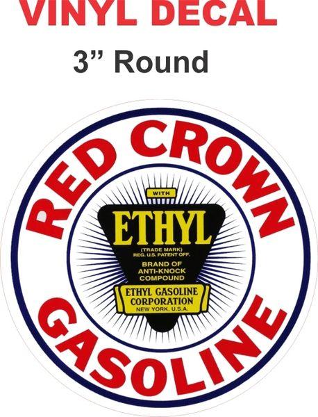 Red Crown Ethyl Gasoline