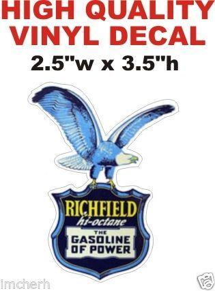 Richfield Hi Octane Gasoline of Power