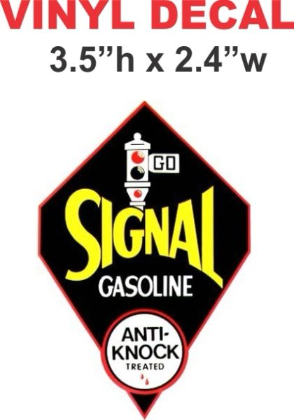 Signal Anti Knock Gasoline