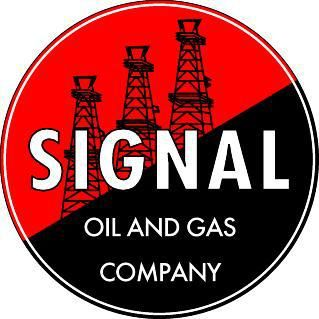 """Signal Oil and Gas Company - 3.5"""" Round"""